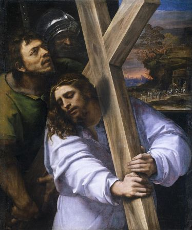 Christ before the high priest by Sebastiano del Piombo