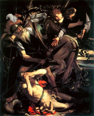 Conversion of St. Paul by Caravaggio