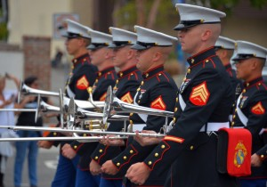 Marines on Armed Forces Day  Photo by  Scott Varley