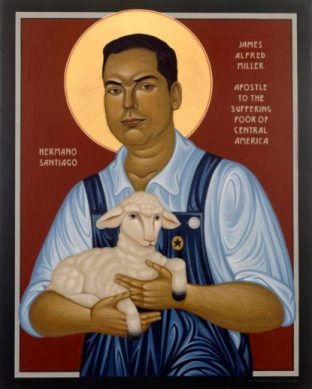 MILLER-BEATIFY-ARTIST Brother James Icon