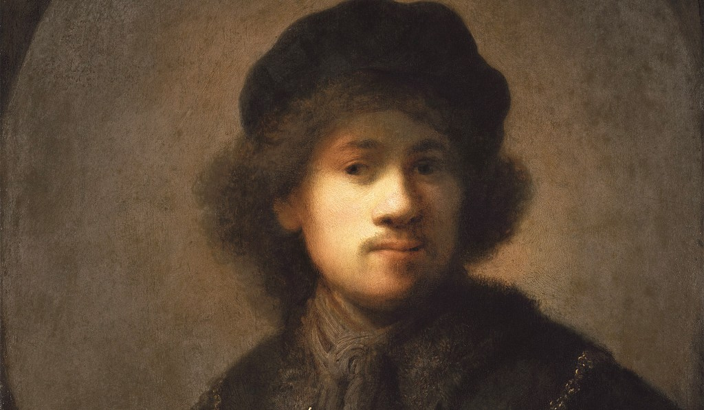 Rembrandt as young man 1629-1631
