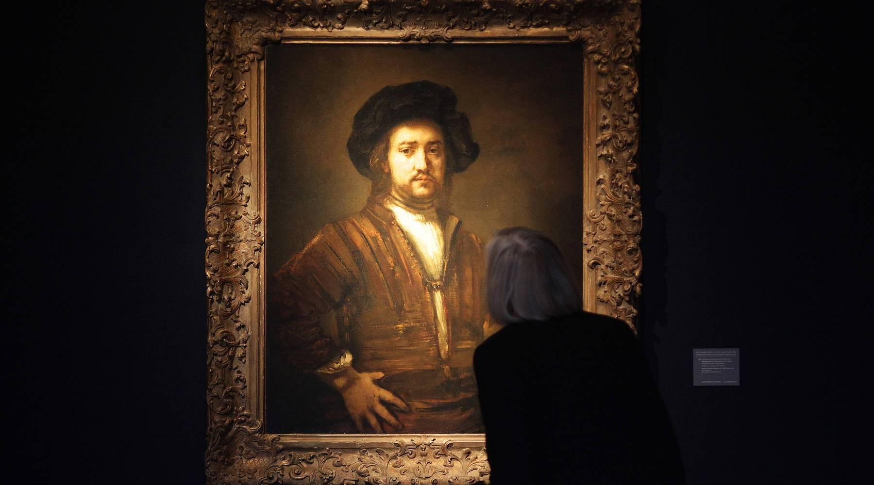 Rembrandt Portrait Expected To Fetch £25 At Auction
