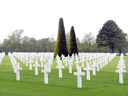 D Day graves at Normandy France